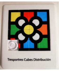 Puzzle Deslizante 4x4 baldosa de Bilbao