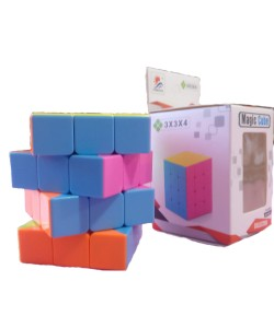 Magic Cube 3x3x4 stickerless