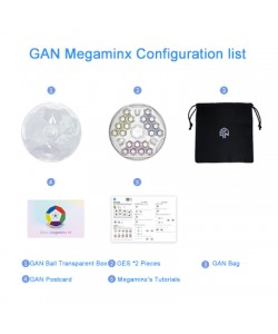 Gan Megaminx Magnético