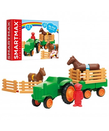 LUDILO MY FIRST TRACTOR SET