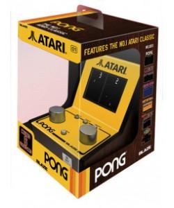 Retro - Atari 5 Game Mini Pong Paddle Arcade