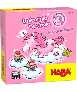Haba Unicornio destello- Memo magico