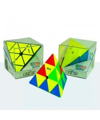 Qiyi Pyraminx MS magnética stickerless