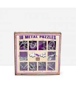 Metal Puzzles Morado