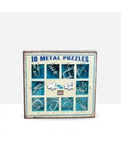 Metal Puzzles Azul
