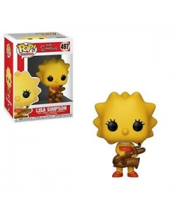 FUNKO POP THE SIMPSON LISA SIMPSON CON SAXOFON