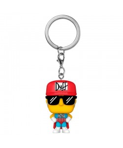 FUNKO POP KEYCHAIN LLAVERO THE SIMPSONS DUFFMAN 53762