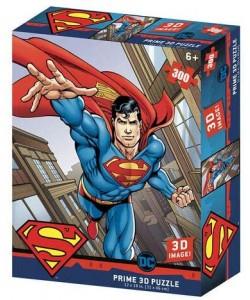 PUZZLE 3D LENTICULAR DC COMICS SUPERMAN 300 PIEZAS