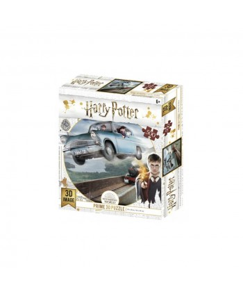 PUZZLE 3D LENTICULAR HARRY POTTER FORD ANGLIA 500 PIEZAS