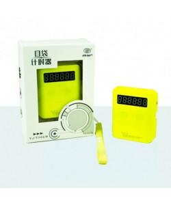 YJ Pocket Cube Timer amarillo
