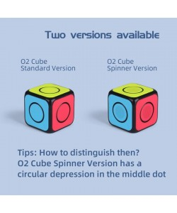 Qiyi O2 Spinner cube negro